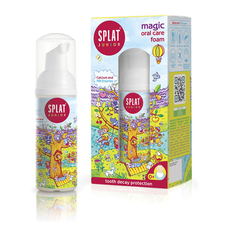 Splat Magic Oral Care Foam